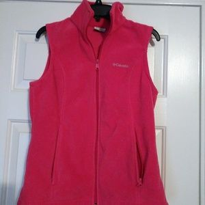 Columbia Small Hot Pink Vest