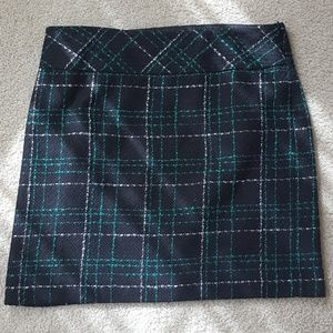 Loft tweed skirt