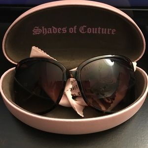 Juicy Couture Sunglasses with sunglass case