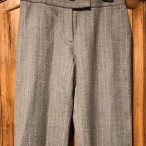 Elie Tahari grey wool pant, sz 4