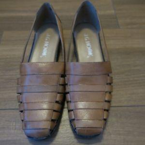 J.G Hook brown womens sandles