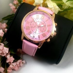 Baby Pink Watch