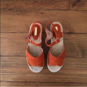 Topshop- espadrille platform sandals