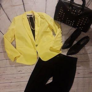 Zara one button blazer size large NWT