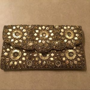 Forever 21 clutch and crossbody
