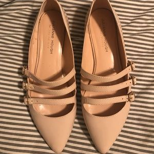 Julianne Hough Sole Society nude flats