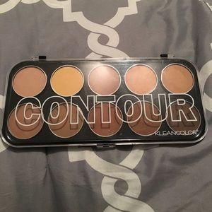 Contour palette powder