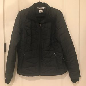 Columbia Sportswear down jacket with thumb holes