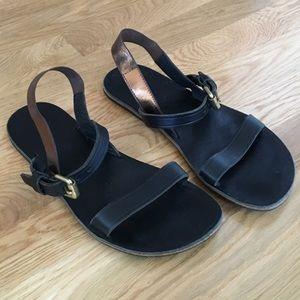 Acne Leather Sandals
