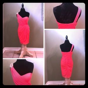 Tangerine Party Dress