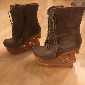 Jeffrey Campbell Sonia Ice Skate Boot