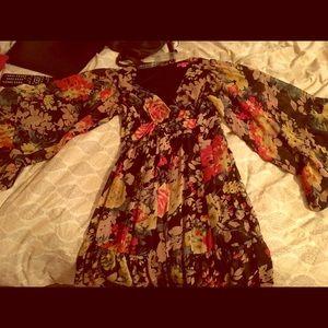 Betsy Johnson 70s inspired dress