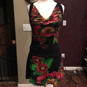 Desigual bubble floral dress
