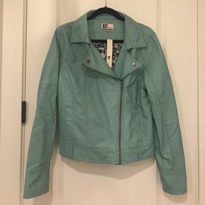 Kut from the Kloth faux leather biker jacket