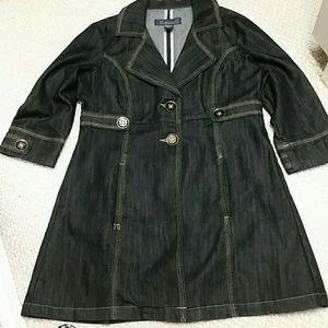 Baccini  Black   denim jacket