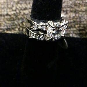CZ Electro Plated Fashion Ring