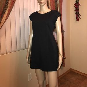 Blk mini dress size large
