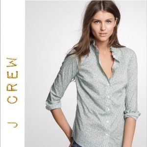 J Crew Liberty Perfect shirt