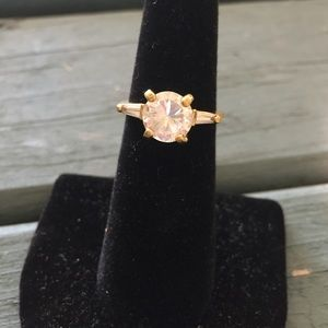 NEW! Gold Engagement Style Ring