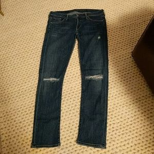 Citizens of Humanity distressed Racer jeans 32