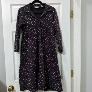 Eddie Bauer long sleeve casual dress Small