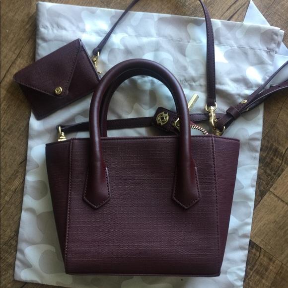 ecca405d611c Dagne Dover Handbags - Signature Dagne Dover petite tote in oxblood