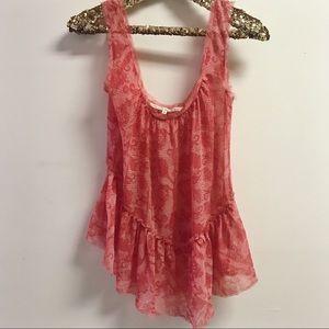 🌷rachel roy pink sleeveless blouse🌷