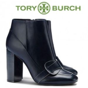 NWOB❗️Tory Burch Bond Bootie in Navy Blue