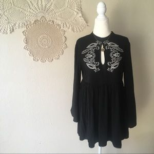 MINKPINK embroidered Valley of the Vine mini dress