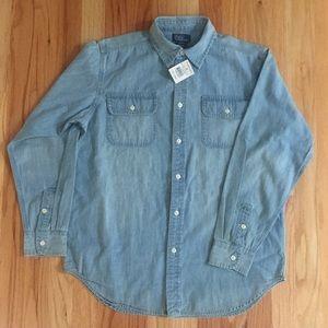 Boy's Polo Denim Shirt