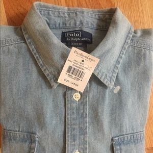 Polo by Ralph Lauren Shirts & Tops - Boy's Polo Denim Shirt
