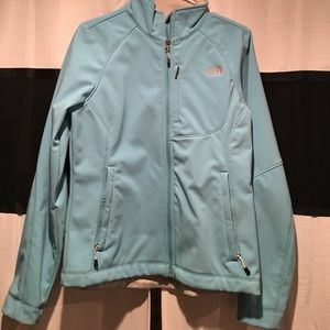 Light Blue Women's North Face Jacket