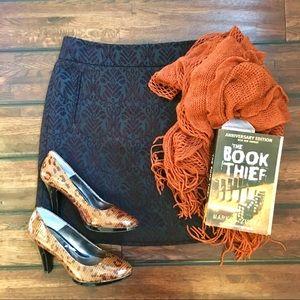 Stunning Ann Taylor Loft Brocade Skirt