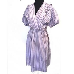 Vintage violet dress