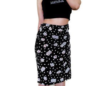 Sonia Rykiel Sheer Black skirt