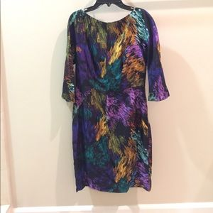 Abstract pattern Milly dress