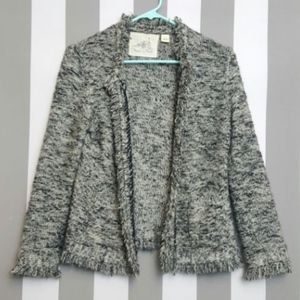 ANGEL OF THE NORTH by ANTHROPOLOGIE Open Jacket M