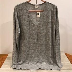 GAP Women's Softspun Knit Slit Tunic XL
