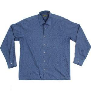 Beretta VTG Button Front Casual Dress Shirt M