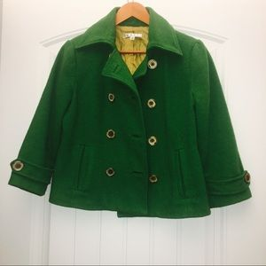 CAbi Clover Peacoat Double Breasted Jacket Size 4
