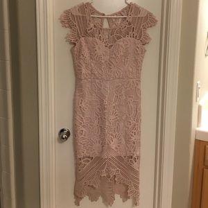 Blush Soiéblu lace dress