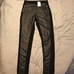 H & M Leather Pants