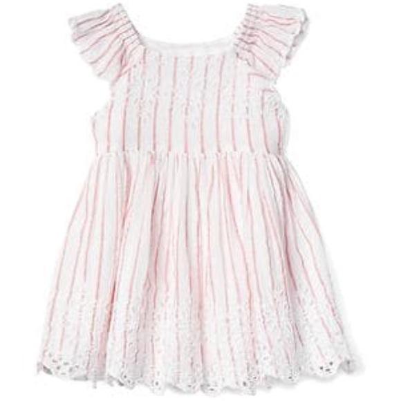 9d1e32a23705 Baby Gap Dresses | Nwtstriped Eyelet Flutter Dress | Poshmark