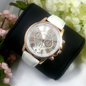 Pearl White Watch