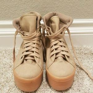 Jeffrey Campbell platform sneakers NEW