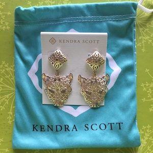 Kendra Scott Tria Panther Earrings
