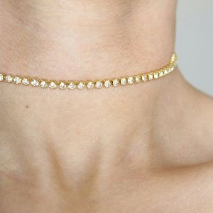 Jewelry - Gold Bling Choker Statement Piece