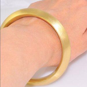Charles Albert Alchemia Gold Bangle Bracelet