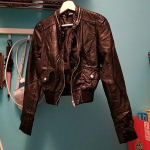 H&M Faux Leather Jacket