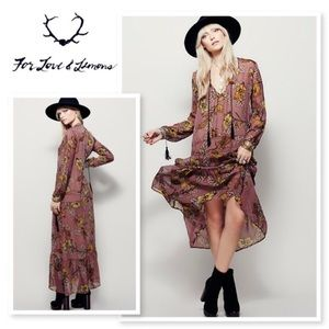 For Love and Lemons Santa Rosa Maxi 🌹